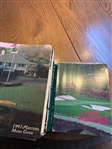 Twenty-Four (24) Assorted Masters Media Only Publications: Media Guides (1997-2009) & Players Guides (1995-2009)