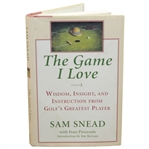 Sam Snead Signed The Game I Love Book with Fran Pirozzolo JSA ALOA