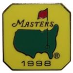 1998 Masters Tournament Employee Pin - Mark OMeara Winner