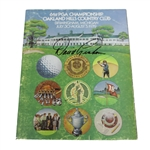 David Graham Signed 1979 PGA Championship at Oakland Hills CC Official Program JSA ALOA