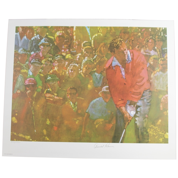 Arnold Palmer Signed Ltd Ed Sports Illustrated 'Living Legends' 18x22 Print JSA ALOA