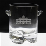 2000s Crystal Augusta National Golf Club Clubhouse Logo Ice Bucket