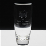 Charles Coodys 1983 Masters Tournament Hole No. 3 Crystal Steuben Eagle Glass
