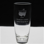 Charles Coodys 1997 Masters Tournament Hole No. 13 Crystal Steuben Eagle Glass