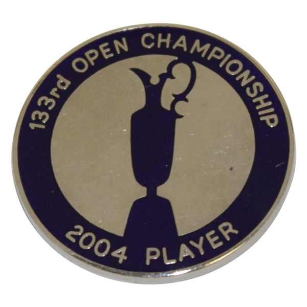 Champion Todd Hamilton's 2004 OPEN Championship at Royal Troon Contestant Badge