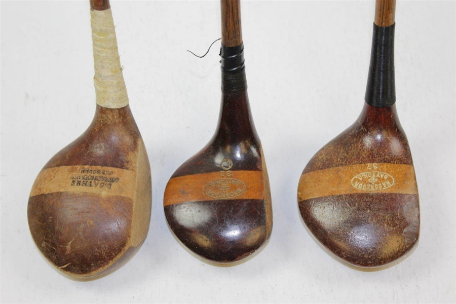 Set of Three Classic Woods (7)