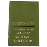 Circa 1962 Portraits: Early Members of Augusta National Golf Club Booklet