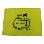 Gene Sarazen Signed 1999 Masters Embroidered Flag - Charles Coody Collection JSA ALOA