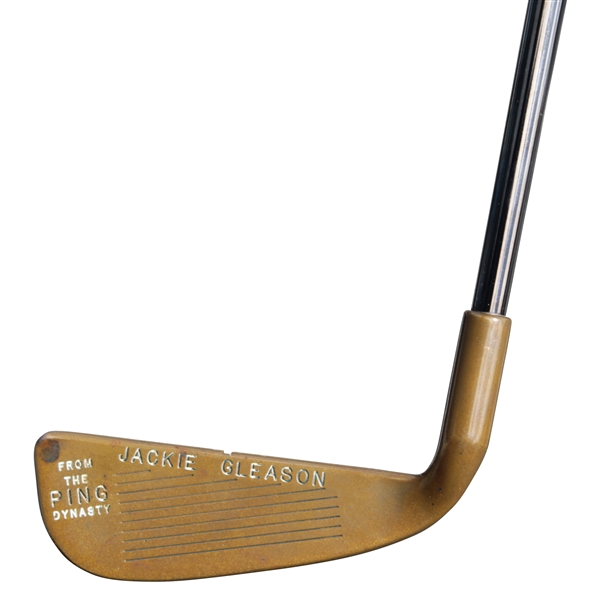 Prototype Karsten Mfg. Co. Jackie Gleason 'From the PING Dynasty' Beryllium Copper Zero with Letter