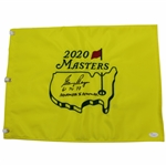 Gary Player Signed 2020 Masters Flag w/Years Won & November to Remember Inscr. JSA #Z91650 Grade 9