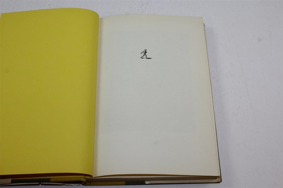 Sam Snead Signed 1962 'The Education of a Golfer' Book JSA #LL94663