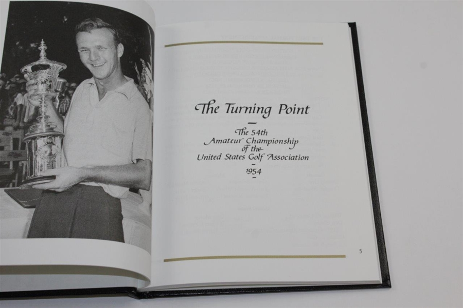Arnold Palmer Signed 2004 'The Turning Point' 50th Anniversary Book JSA #Q49230