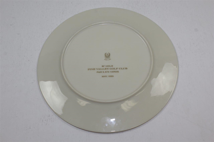 Pine Valley Golf Club Stableford Herbert J. Adair Trophy Plate