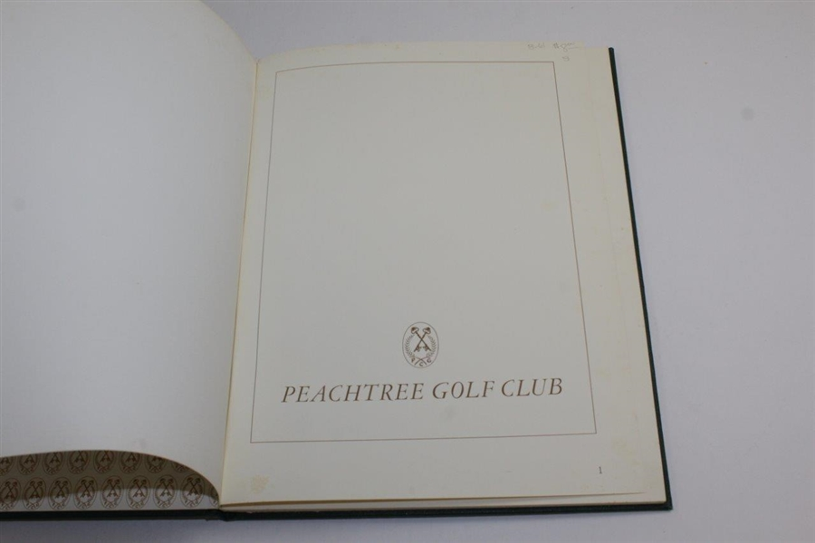 Peachtree Golf Club' 1978 Book