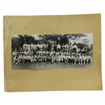 1934 Masters (35 Oops!) (Augusta Invitational) Oversize From Original Field Photo - First Time Offered