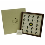2016 Ltd Ed Augusta National Masters Hole Layout Pin Set in Original Box #051/150