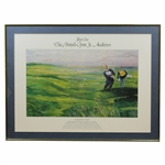 Jack Nicklaus Signed Silver Era: The British Open at St. Andrews Triumphant Return Print - Framed JSA ALOA