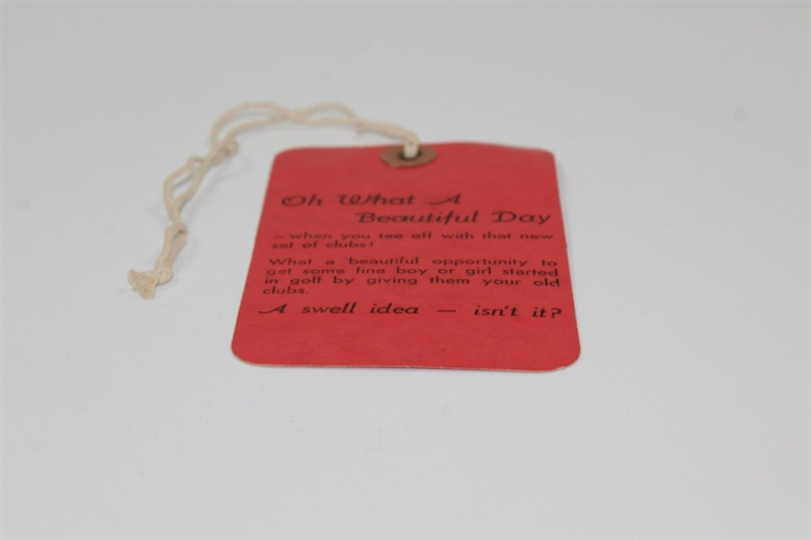 1953 Masters Tournament Fourth Rd Sunday Ticket #10484