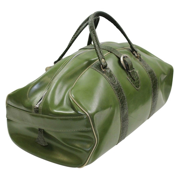 1960's Vintage Country Club MacGregor MT Tourney Classic Green Alligator Leather Duffel Bag - Great Condition