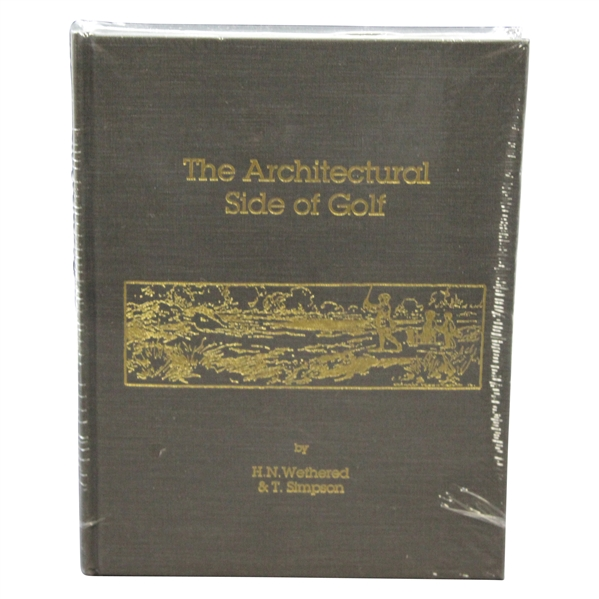 The Architectural Side Of Golf Sealed in Publishers Shrink Wrap
