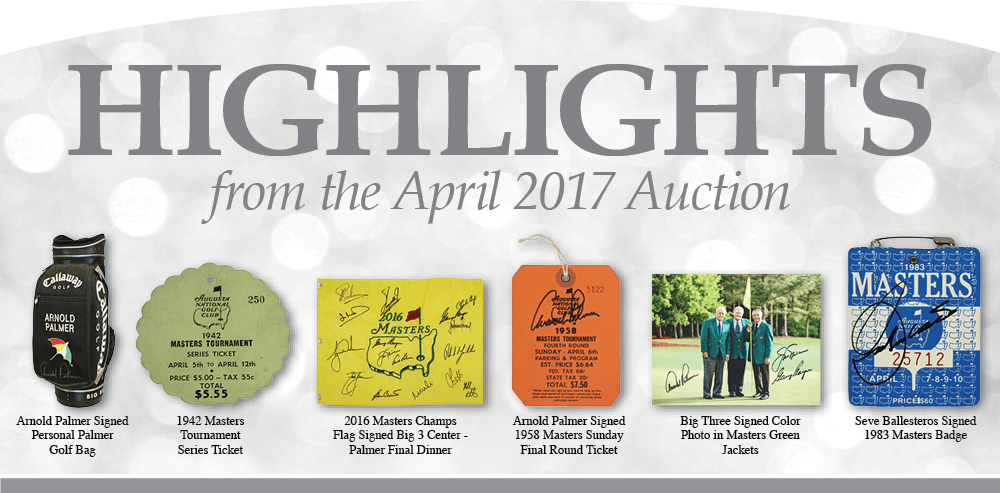 April 2017 Highlights