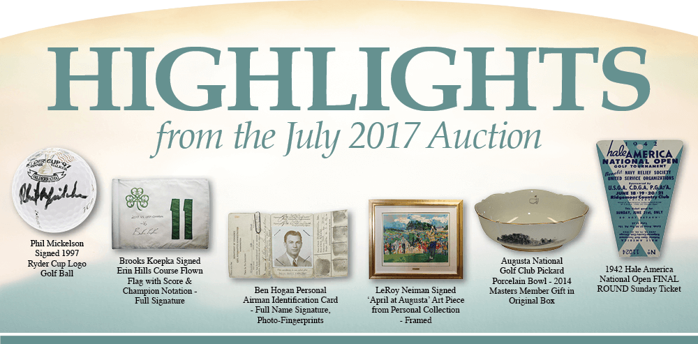 July 2017 Highlights